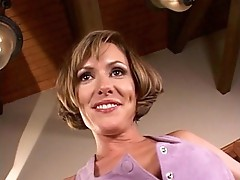 Horny milf Saskia screwed