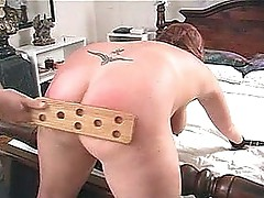 Chunky arse paddled