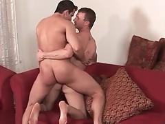 Cameron and Penix in hardocre gay cock scene
