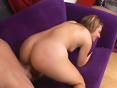 Fuckslut Cali Winters getting thobbing 10-pounder rammed in hot wet cunt doggy position