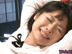 Aya Sakuraba kinky Asian model pussy