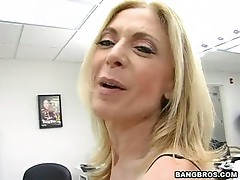 Excited Milf Nina Hartley could not just await to get jizzed by her lover