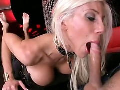 Blonde doxy PuMa Swede Munches a Mbootyive knob with all her pLeasure