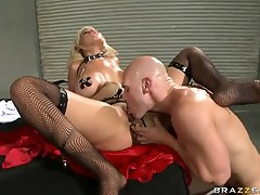 Lusty sexy arseed Bridgette B deserves to get group-fucked hard just the way she craved