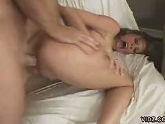 Fiery bitch gets pussy pounded hard