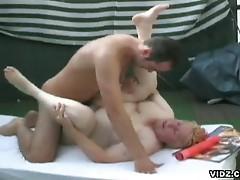 Busty bbw rides hard fuck stick