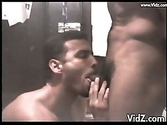 White dude munches on black boner