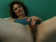 Amateur sex movie with brunette babe and she get fucked by old man
