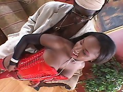 Black cherry get hard fucked by 20''  black cock !