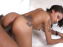 Skin Diamond fucks in all holes