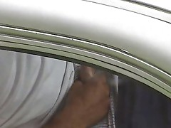 Caught on cam masturbating in his car
