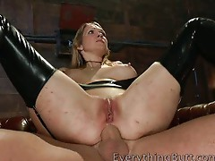 Bisexual hardcore anal sex is great