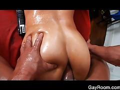Troy's deep anal massage