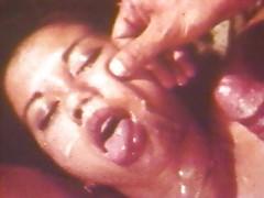 Asian hottie sucks it all