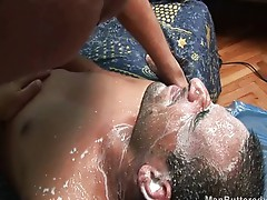 Raw gay fucking with heavy cumshot
