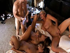 Teen twins fuck a hot couple