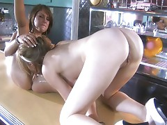 Lexi Belle and Risi Simms are blazing hot lesbians