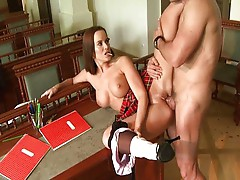 Cindy Dollar is a nasty little schoolgirl