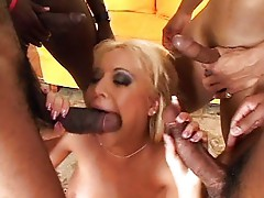 Black snakes make Jasmin moan