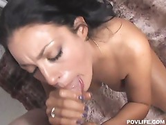 Sucking Angelica Raven