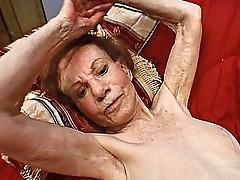 Hardcore granny 3some