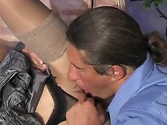 Subrina and Morgan girl and daddy movie