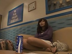 Aya Hirai Lovely Asian milf likes dick