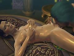 Pornomation animation pussy licking