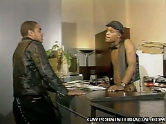 Two hot black gay guys getting hot and horny for each other