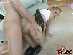 Petite blonde faye regan getting rough anal