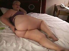 Big beautiful woman amateur home video