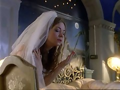 Cock plugging action for this horny bride theresa russell