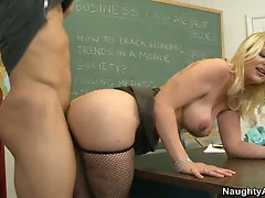 Teacher anita blue fucks student johnny castle