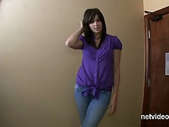 Jamie calendar audition - netvideogirls!