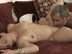 Mom melissa monet pussy eaten by ex-husband