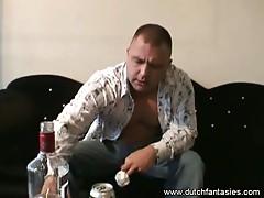 Dutch couple likes good rough sex