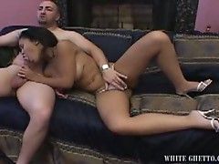 Asian prostitute getting pounded by horny dude with big cock