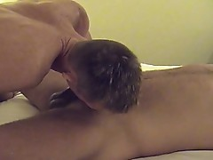 Two gays meet and suck cock before hardcore ass fucking