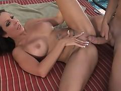 Super slut big tits brunette amy fisher hardcore pounding outdoors