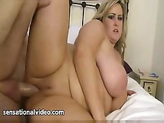 Leah Jayne is a chubby with big tits who gets fucked hard