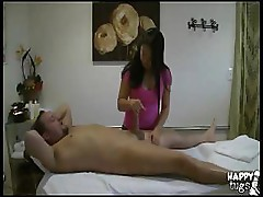 Asian masseuse goes the extra mile