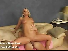 Blonde mom is a hot and horny babe who needs to fuck a hard cock