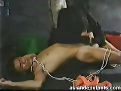 Japanese ruthless forceful gay threesome
