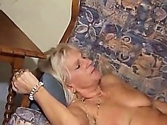 Granny fucked by bald man