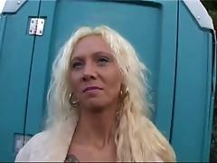 Hot Blonde Euro MILF Melissa Banging In Boots