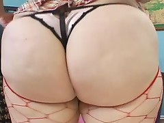 Fat blonde woman in hard sex suck and fuck