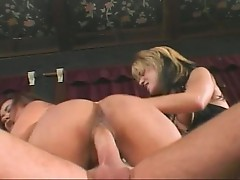 Hot chicks fucked by toys and cock!