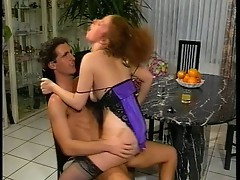 Amateur girl with hairy pussy fucked hard
