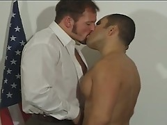 The best gay office sex with these two studs