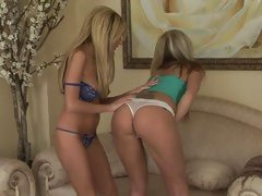 AJ Bailey & Hillary Scott strip each other off